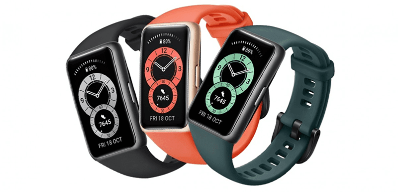 Huawei Band 6 budget fitness tracker with big-screen announced!