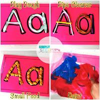letter mats for alphabet