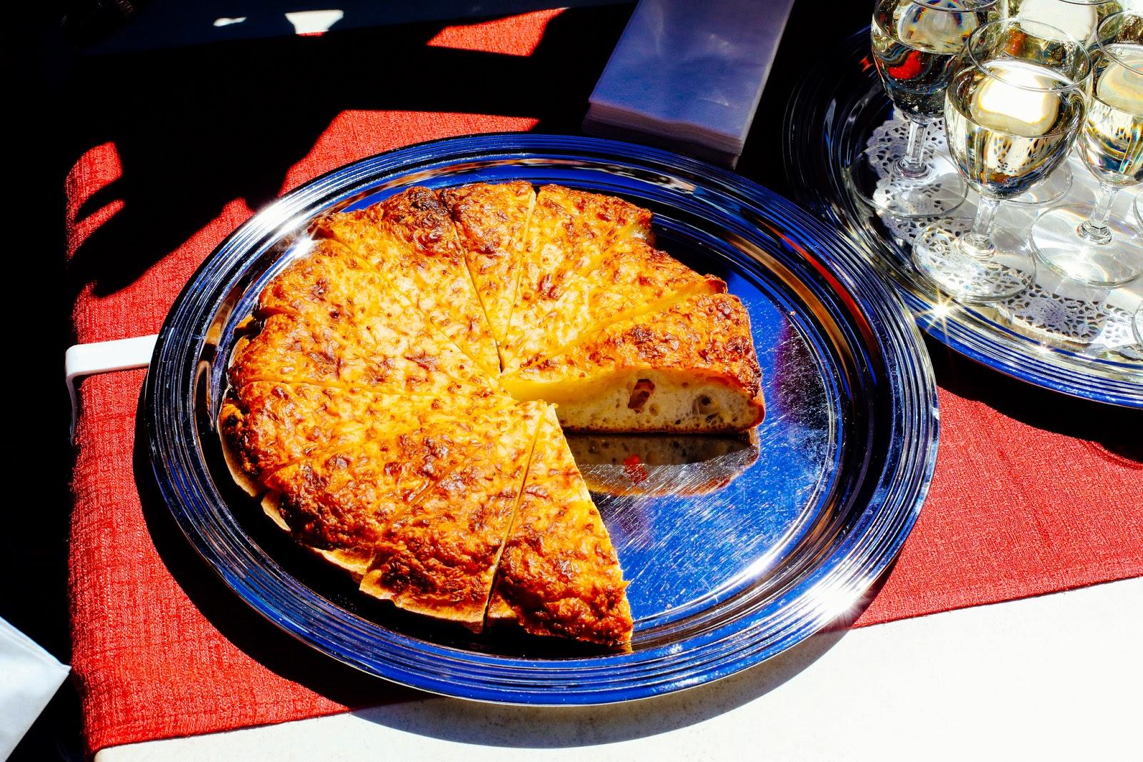 swiss cheesecake