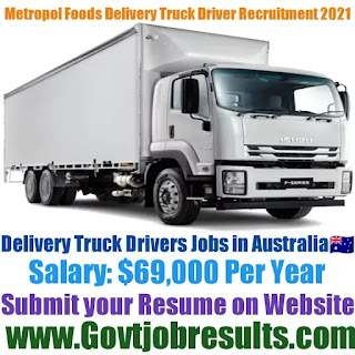 Metropol Foods Delivery Truck Driver Recruitment 2021-22