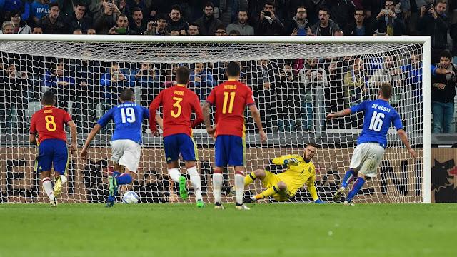 El Grupo G de las eliminatorias Europa Rusia 2018 puede quedar definido tras el España vs. Italia