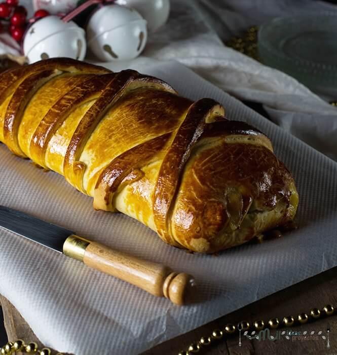 pan de jamon para navidad