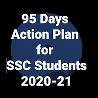 95 Days Action Plan for SSC Students 2020-21