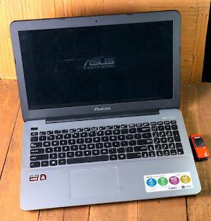 Jual Laptop Gaming Asus X555QG-BX121D Bekas