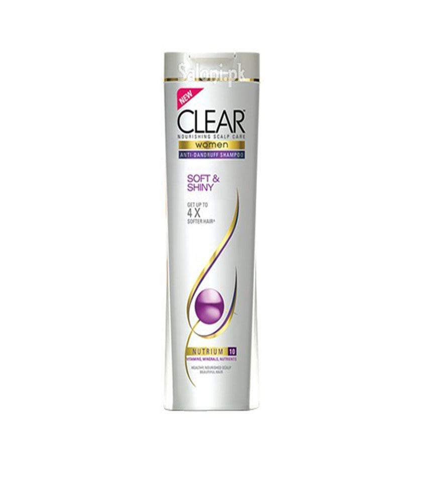 Clear Women Soft And Shiny Shampoo 180 ml