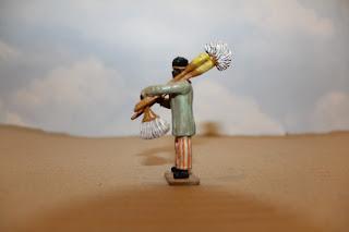 Vendedor de escobas, por Osvaldo Verón