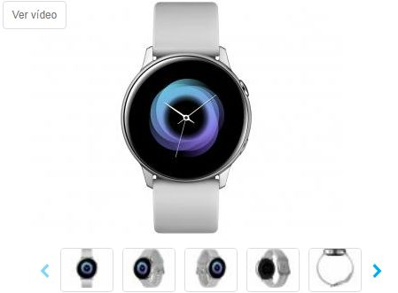 Smartwatch Samsung Watch Active Galaxy