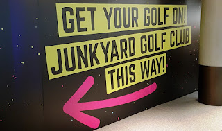 Junkyard Golf at the Westgate Centre in Oxford