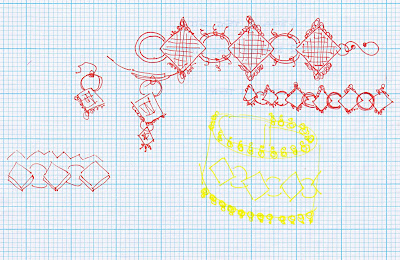 jewelry sketches by Bobbin and Fred