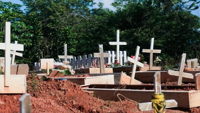Cemitério de Porto Velho sepultou mais de 200 corpos em março