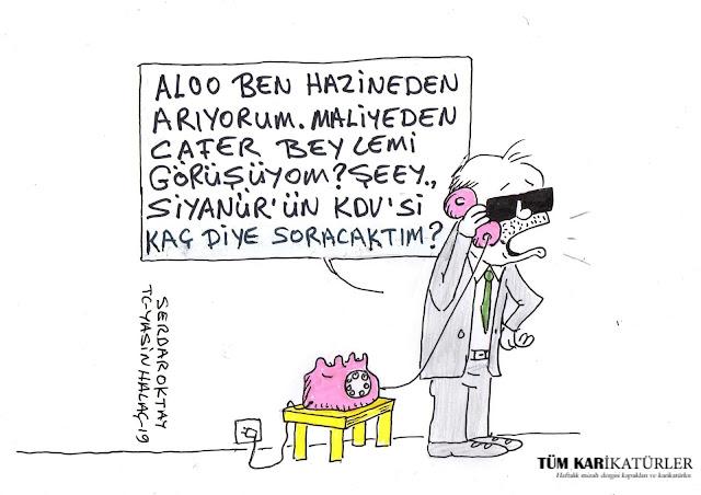 siyanür karikatürü