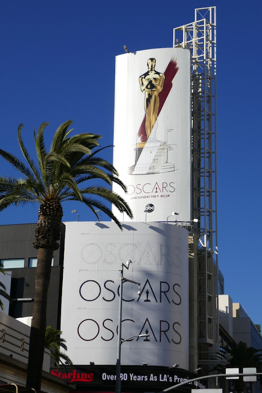 92nd Oscars billboards