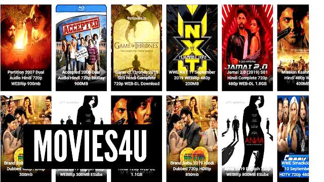 WorldFree4u 2020- Download 300MB HD Movies from Worldfree4u Hindi