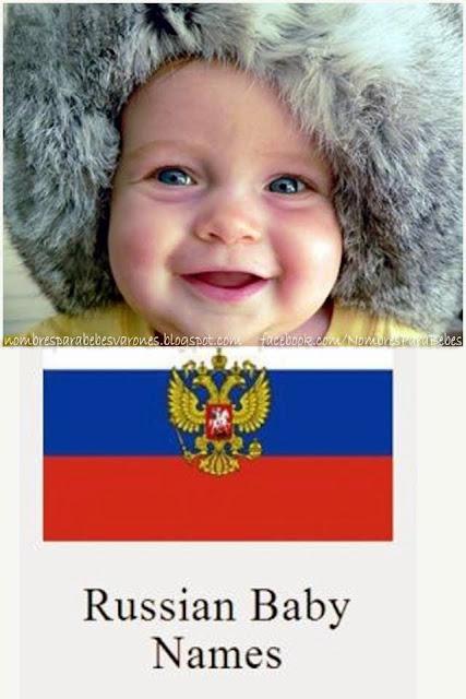 nombres rusos para nios varones