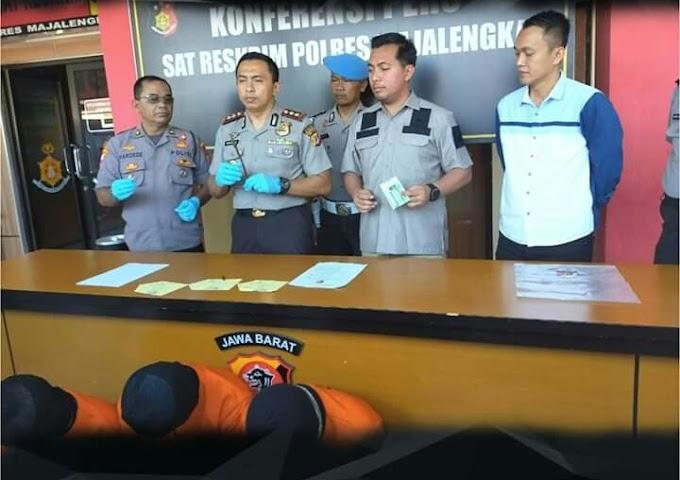 3 Pelaku Curanmor Dan 11 Motor Diamankan Oleh Polres Majalengka
