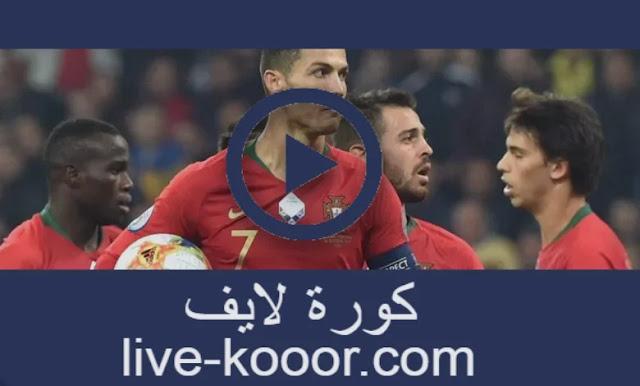 مشاهدة مباراة بلجيكا والبرتغال بث مباشر