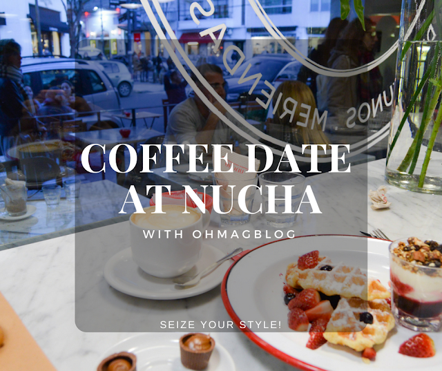 A Coffee Date at Nucha