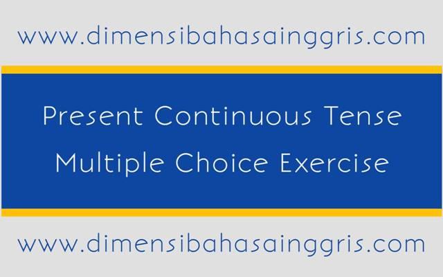 DBI - Soal dan Jawaban: Present Continuous Tense PG Free PDF