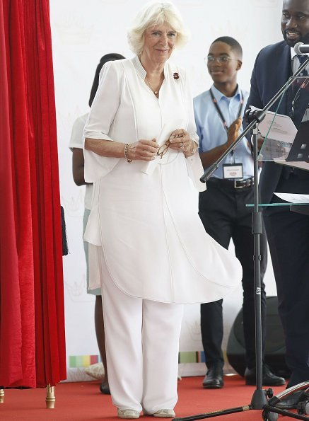 The Queen's Commonwealth Essay Competition 2019. Duchess Camilla attends Commonwealth Big Lunch at the Ghana International Junior School