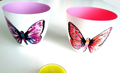 PartyLite Butterfly Tealight Holders