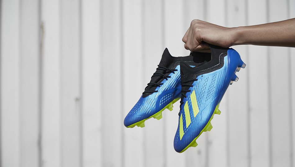 a9cdbc966d02 The next-generation Adidas X 18.1 boots were finally launched this morning.  The Adidas X 2018 World Cup cleats are part of the Adidas 2018 World Cup   Energy ...
