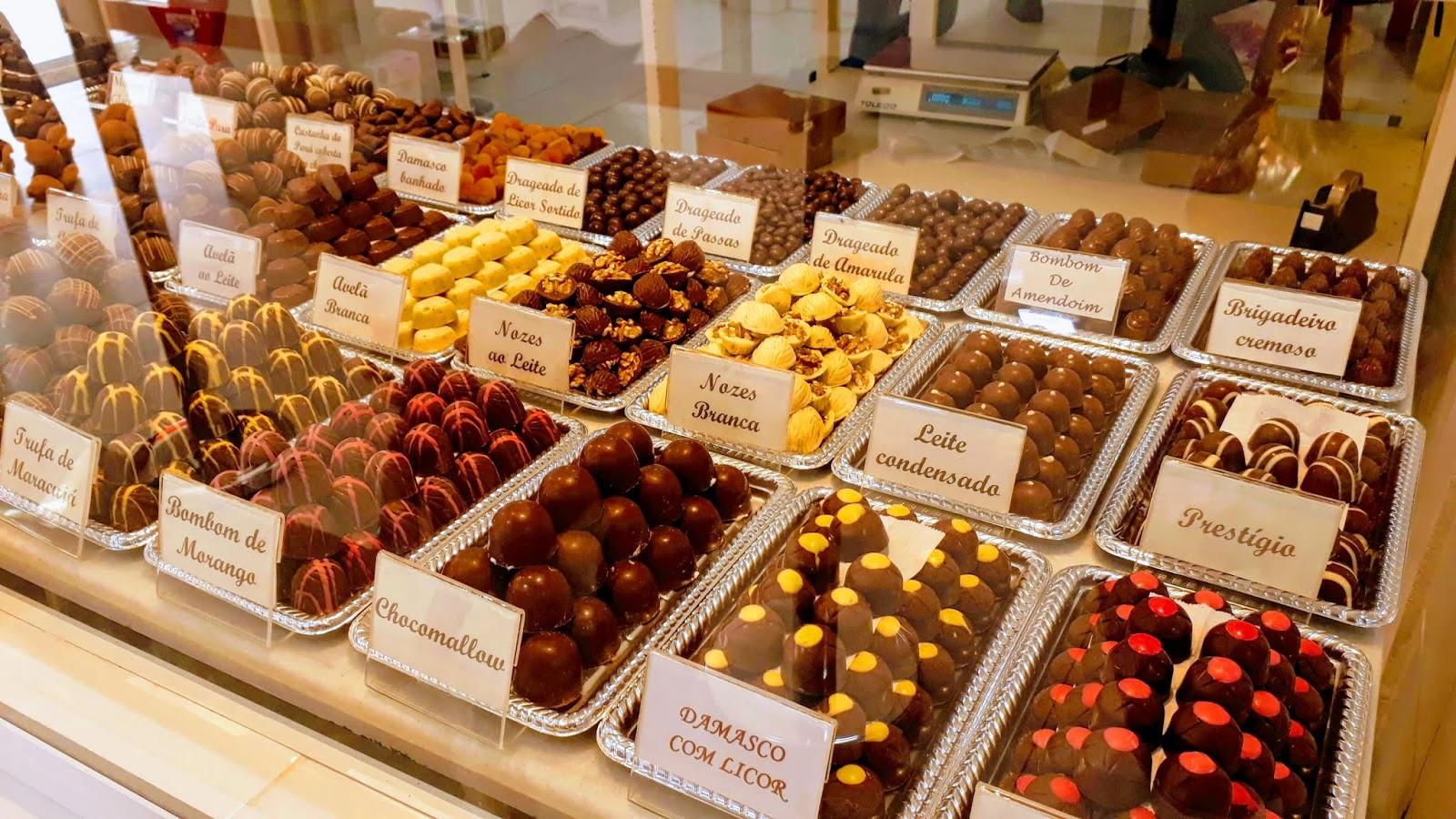 Loja da Fábrica Chocolate do Penedo