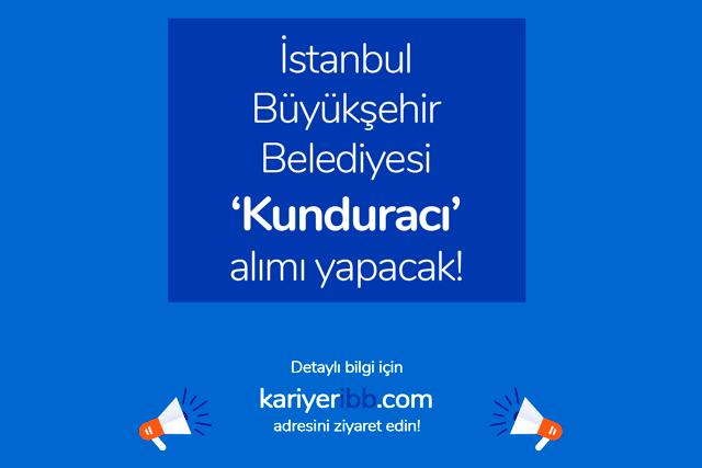 İstanbul Büyükşehir Belediyesi kunduracı iş ilanı yayınladı. Kunduracı iş başvurusu için aranan nitelikler neler? İBB güncel iş ilanları kariyeribb.com'da!