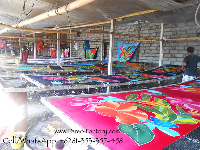 Sarongs Factory in Bali