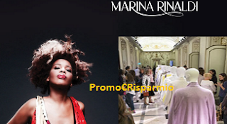 Logo Marina Rinaldi : vinci gratis 50 o 500 euro di shopping