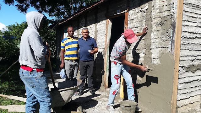 Junta Distrital Las Zanjas reparará  casas que  no fueron intervenidas por el gobierno central