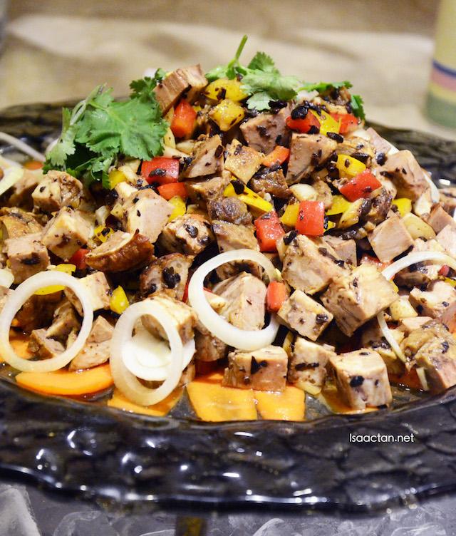 Mongolian Lamb Salad