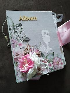 Album komunijny dla dziewczynki Aurora