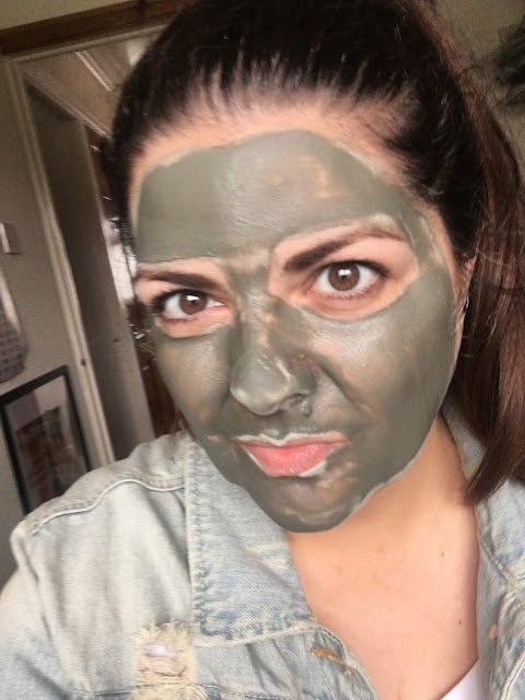Nu Skin Epoch Glacial Mud Mask and Boots Charcoal and Willow Bark Mask review