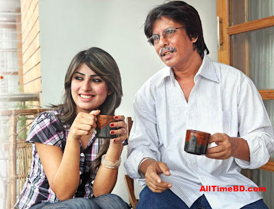 Anika Kabir Shokh with her father's photos, Anika Kabir Shokh and her family photos