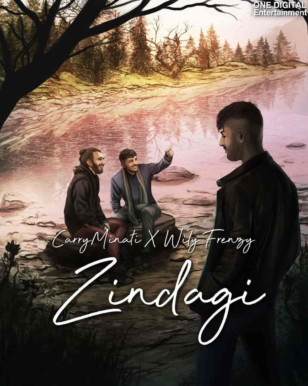 Zindagi Lyrics Images CarryMinati