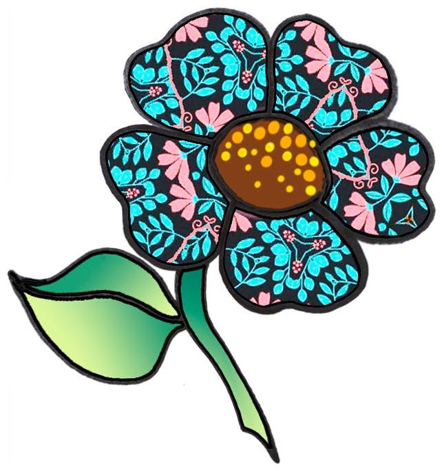 ArtbyJean - Paper Crafts: Single Flowers - CRAFTY CLIP ART ...