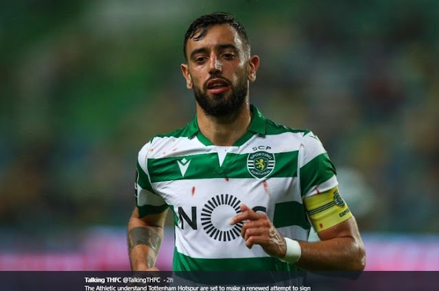 Bruno Fernandes, Sporting CP, Manchester United. Anfield Stadium, Red Devils, English League, Exchange Transfer