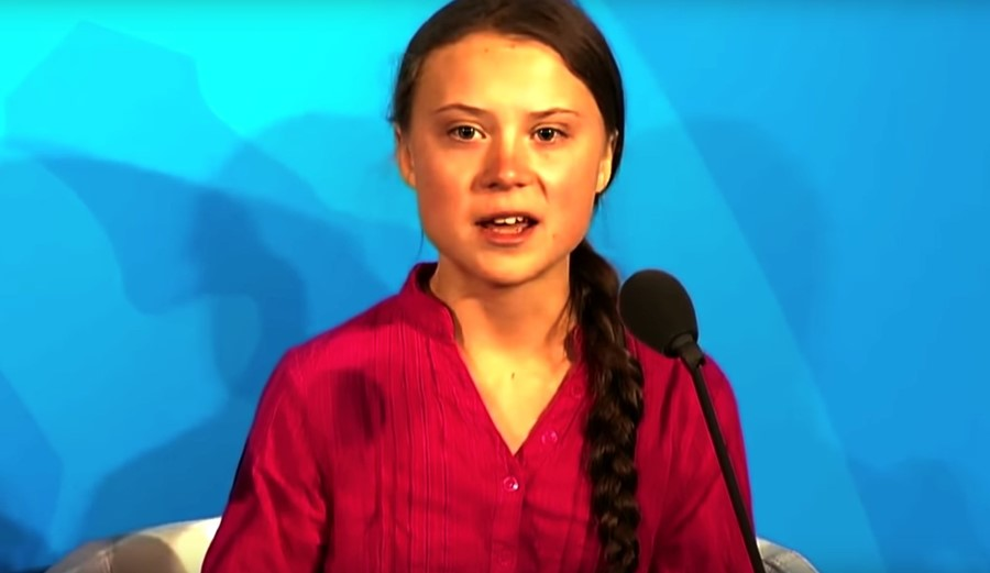 Greta Thunberg UN speech