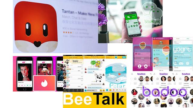 Kumpulan Aplikasi Mencari Orang & Teman Baru Di Sekitar Kita Terbaik 2019