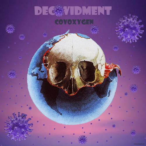 COVID-19 - Decovidment - COVOXYGEN by ©Domelgabor 2020 Tribute to Jean-Michel Jarre Oxygen Album Cover