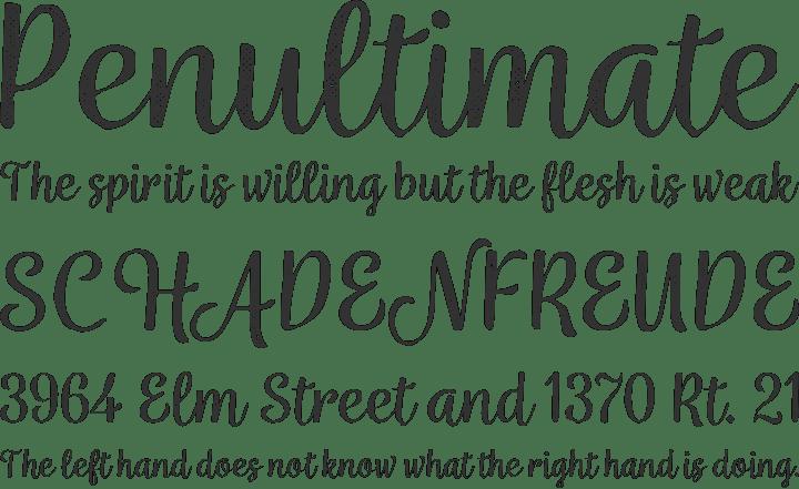 Download Font Edisi Februari 2017 - Wreath Font