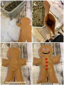 Crafting with Cats Catmas Special - Part 4  ©BionicBasil® Catmas Catnip Toy - Gingerbread Purrson