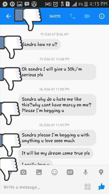 Naija lady exposes man who said he wanks with her picture everyday