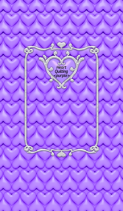 Heart Quilting <purple>