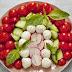 Tartar of raw vegetables