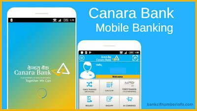 Canara Bank Balance in Mobile banking