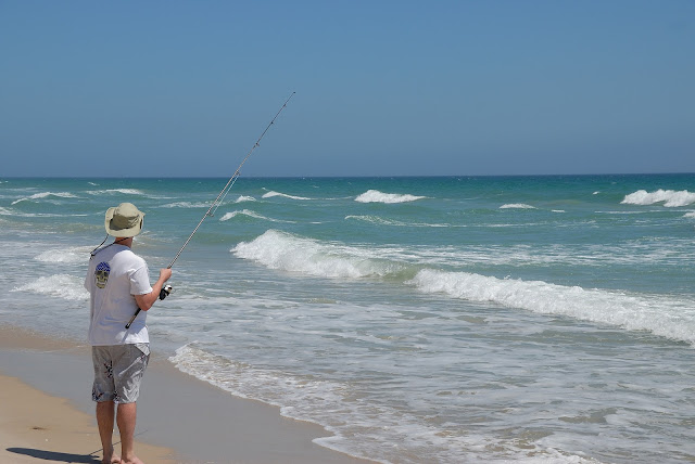 Surf Fishing – Not as Easy as It Looks
