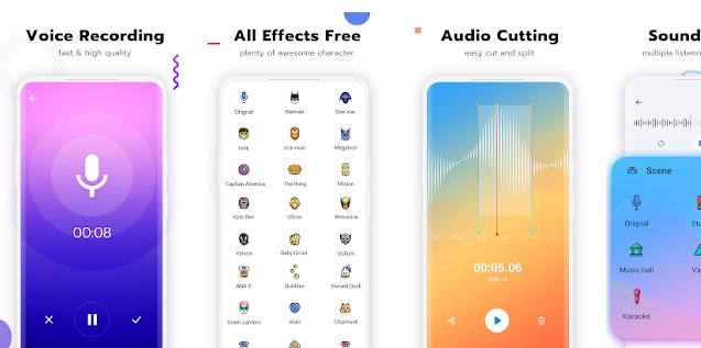 Voice Changer - Voice Editor Autotune audio effect