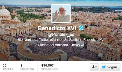Pontifex cerrará su cuenta de Twitter - Social Media