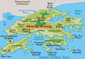 Peta Hongkong
